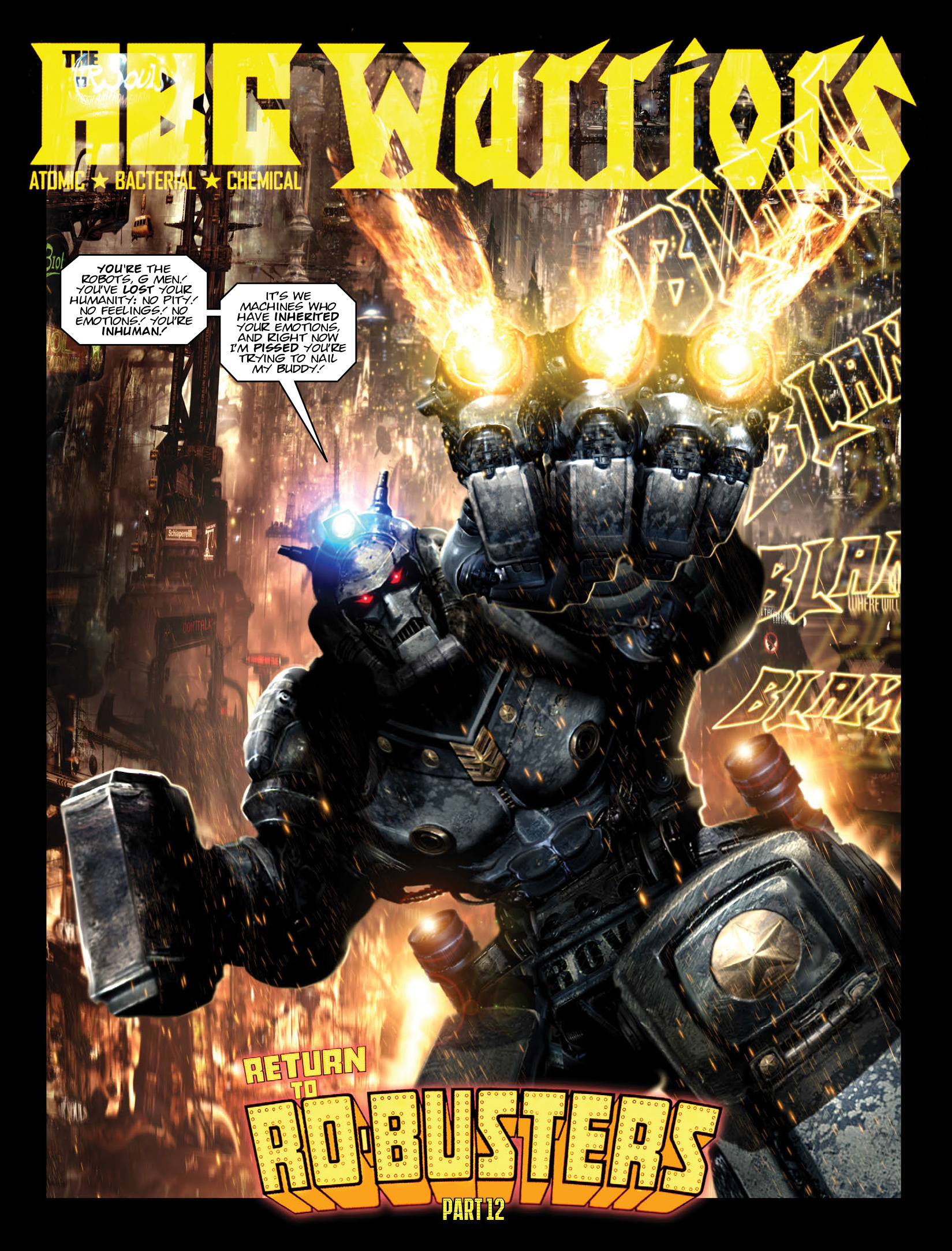 Read online 2000 AD comic -  Issue #1972 - 17