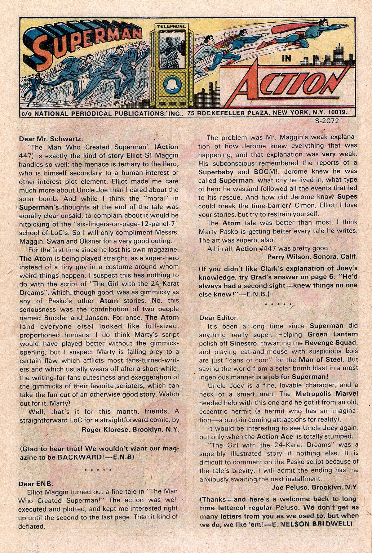 Read online Action Comics (1938) comic -  Issue #451 - 26