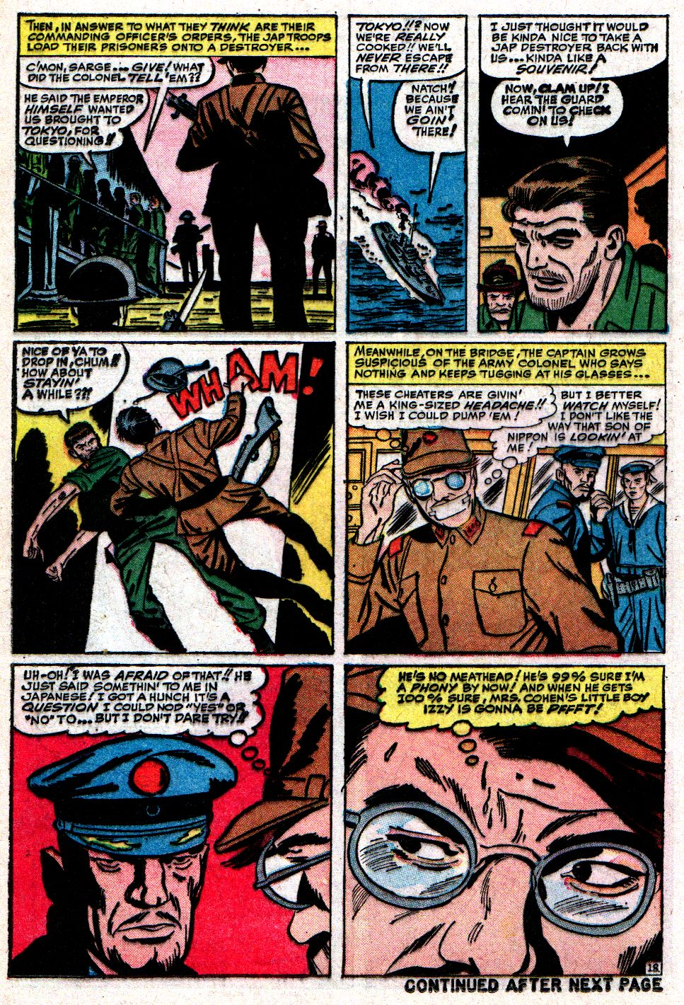 Read online Sgt. Fury comic -  Issue #10 - 24
