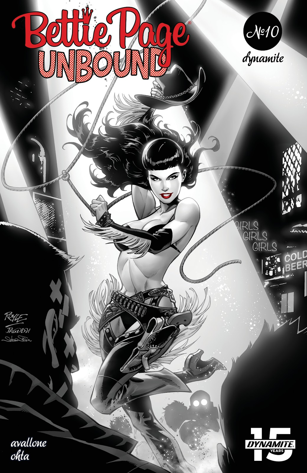 Read online Bettie Page: Unbound comic -  Issue #10 - 1