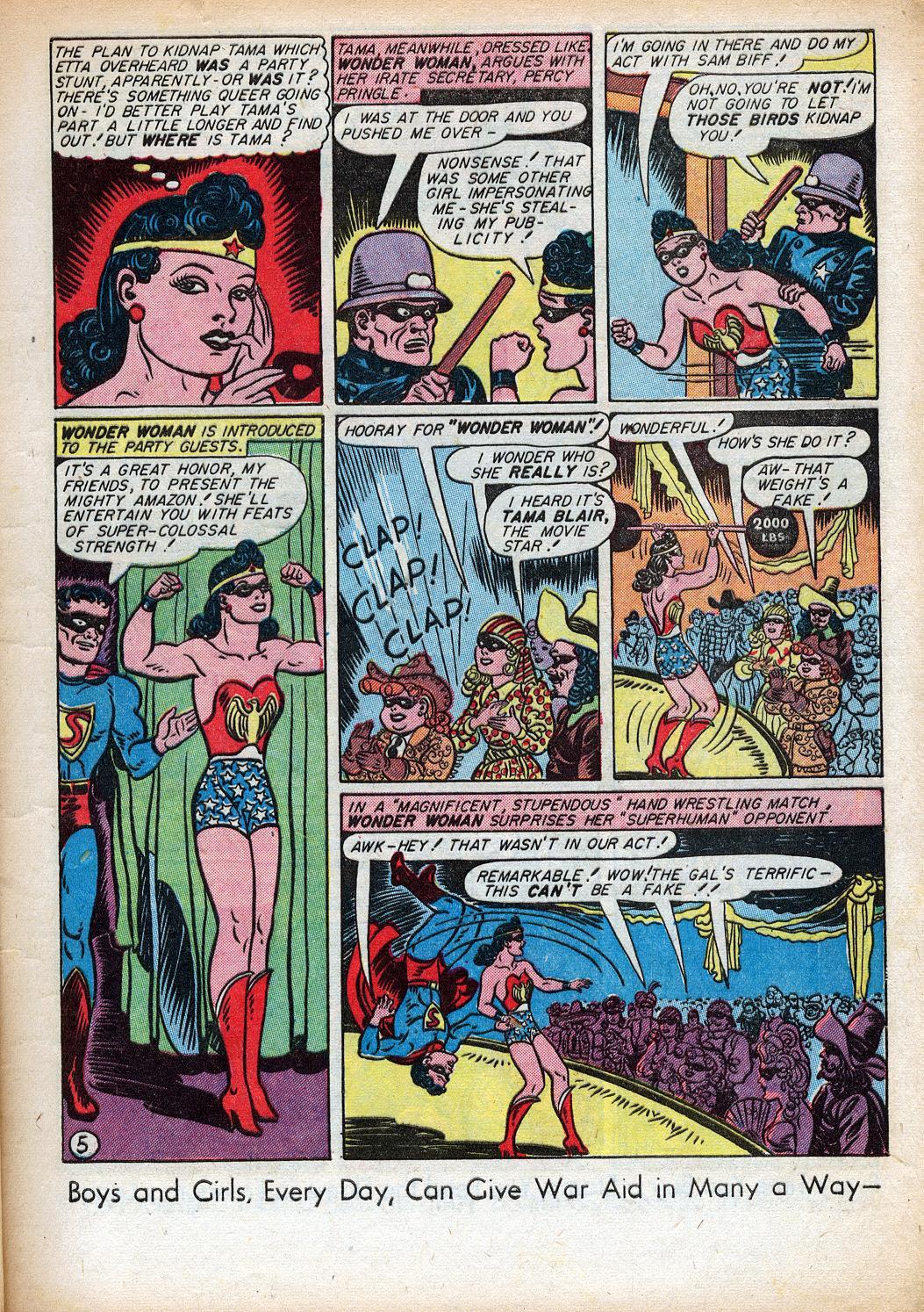Read online Sensation (Mystery) Comics comic -  Issue #33 - 7