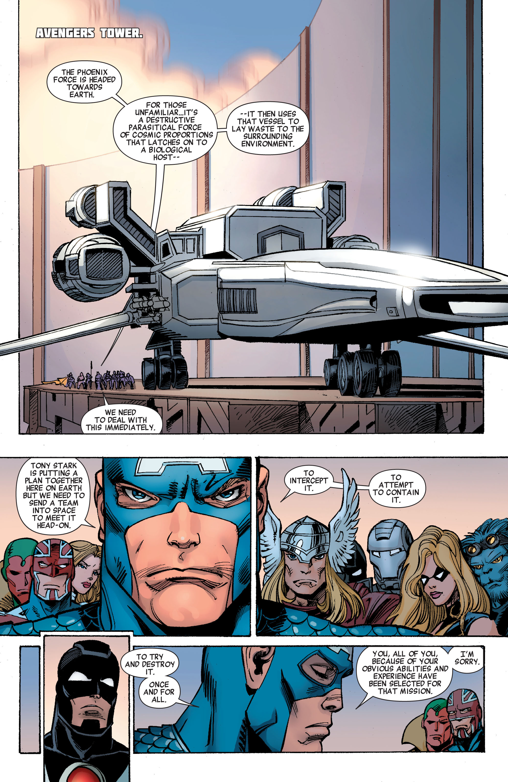 Read online Avengers (2010) comic -  Issue #26 - 3