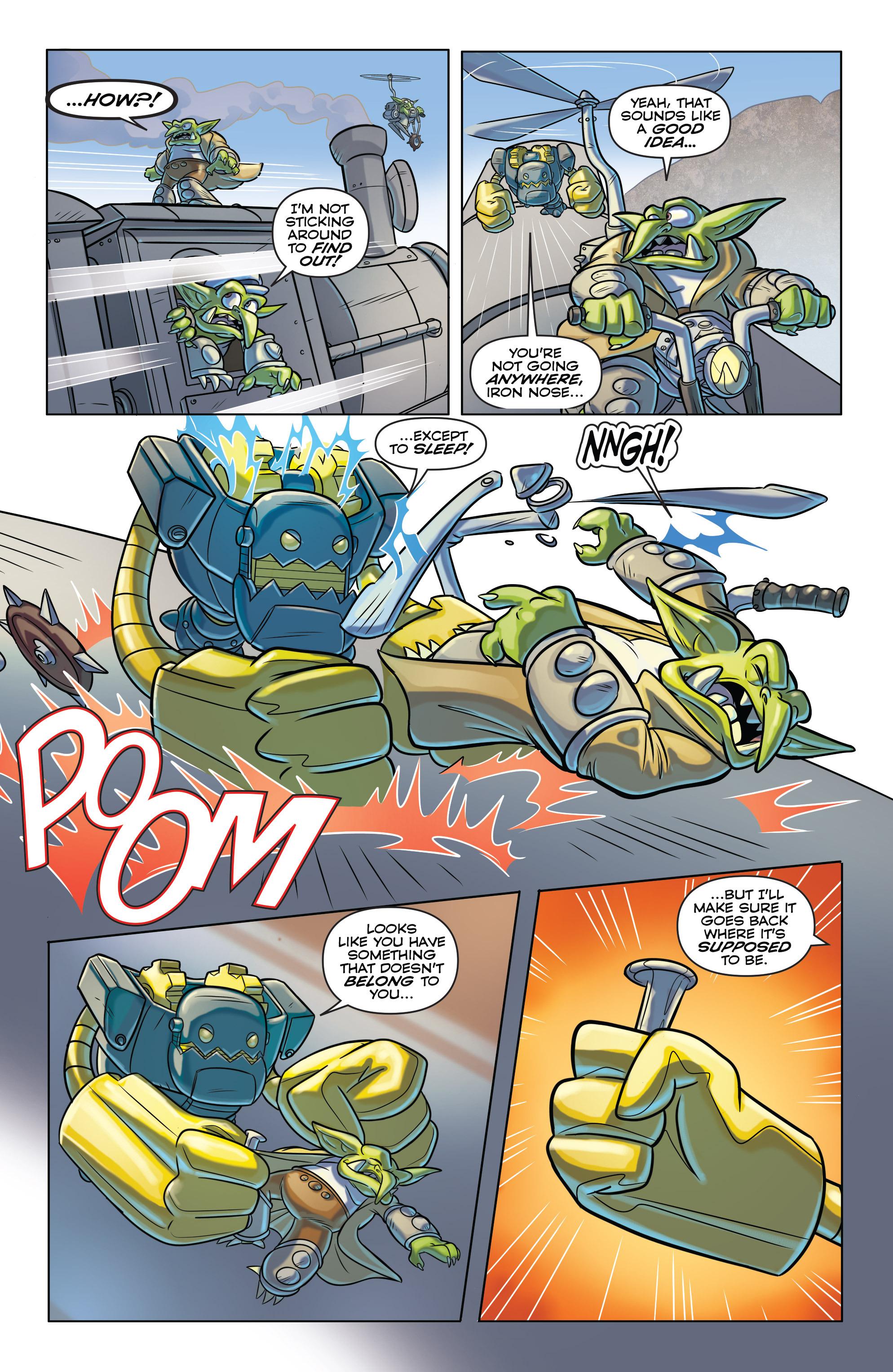 Read online Skylanders comic -  Issue #6 - 17