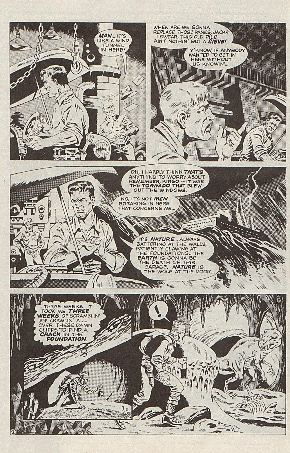 Read online Xenozoic Tales comic -  Issue #6 - 25