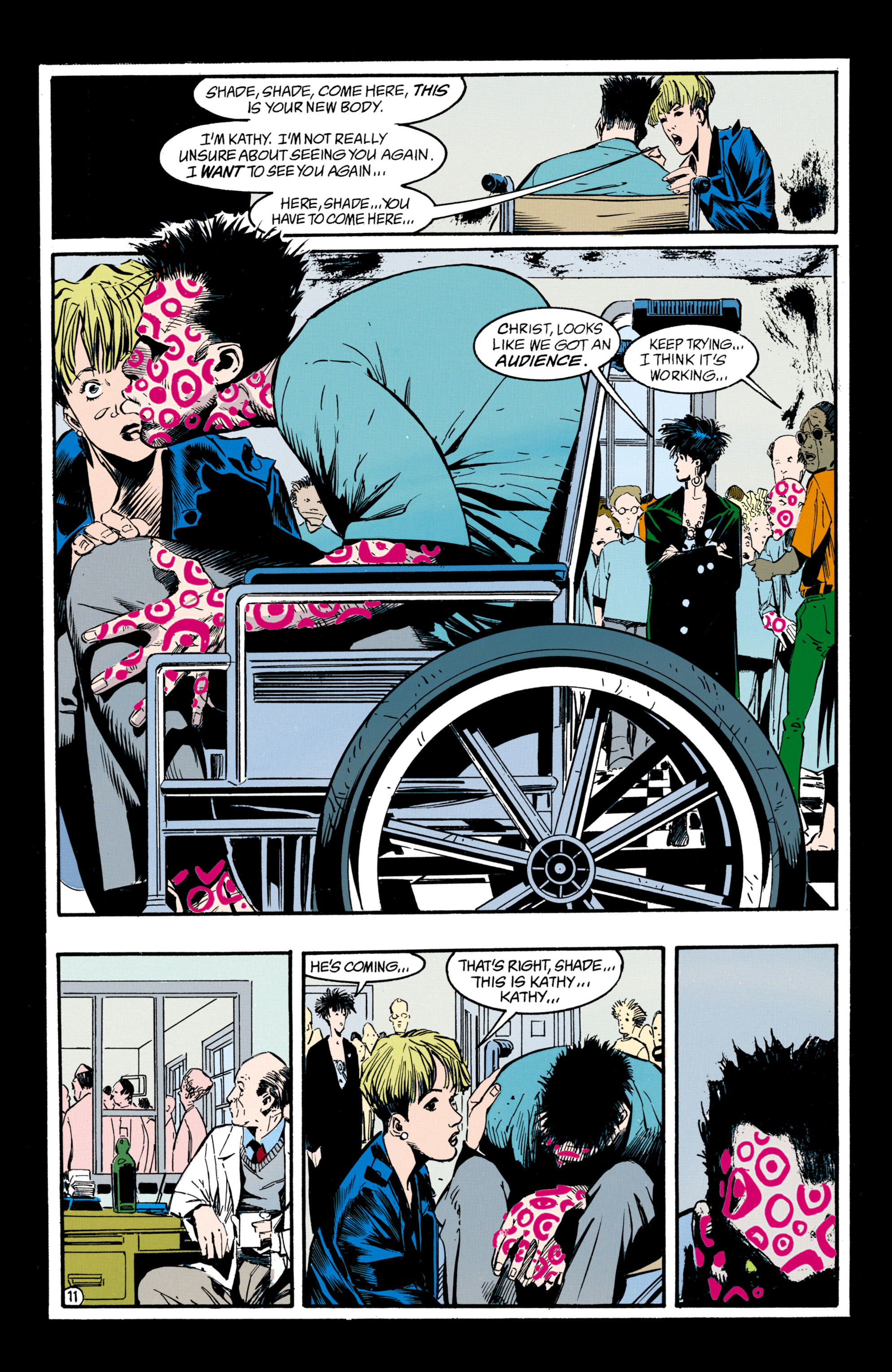 Read online Shade, the Changing Man comic -  Issue #33 - 12