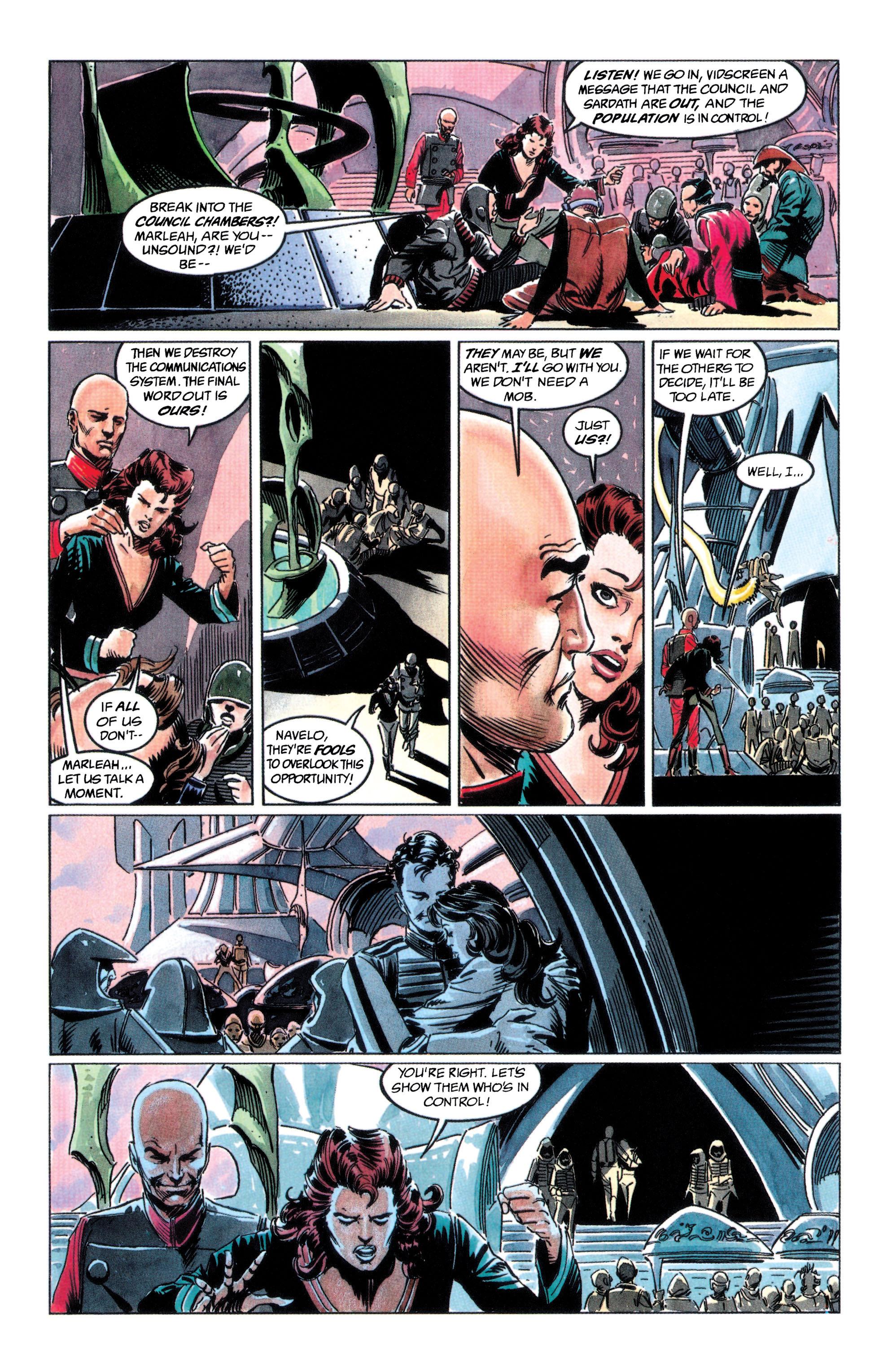 Read online Adam Strange (1990) comic -  Issue #2 - 17
