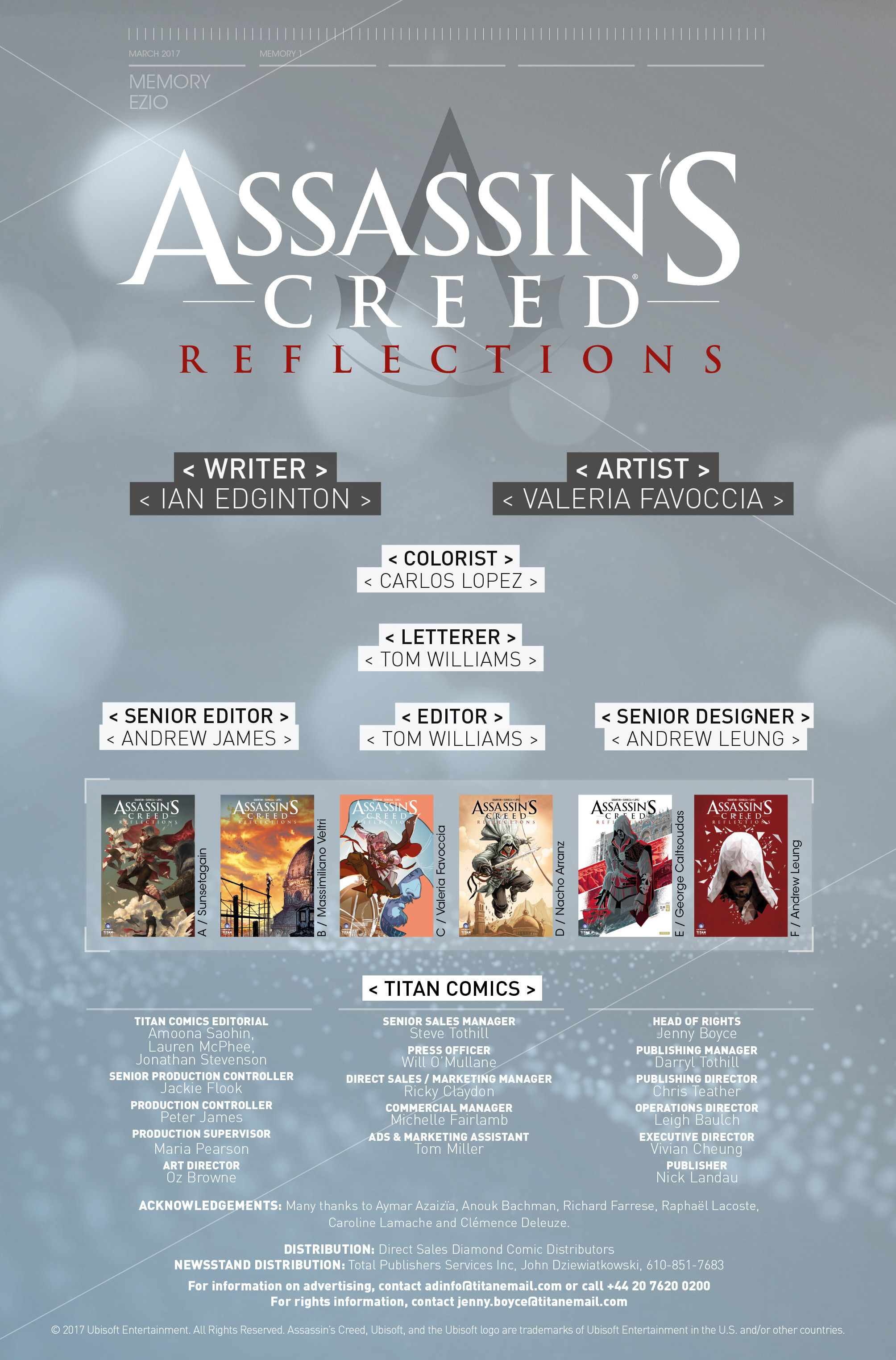 Read online Assassin's Creed: Reflections comic -  Issue #1 - 26