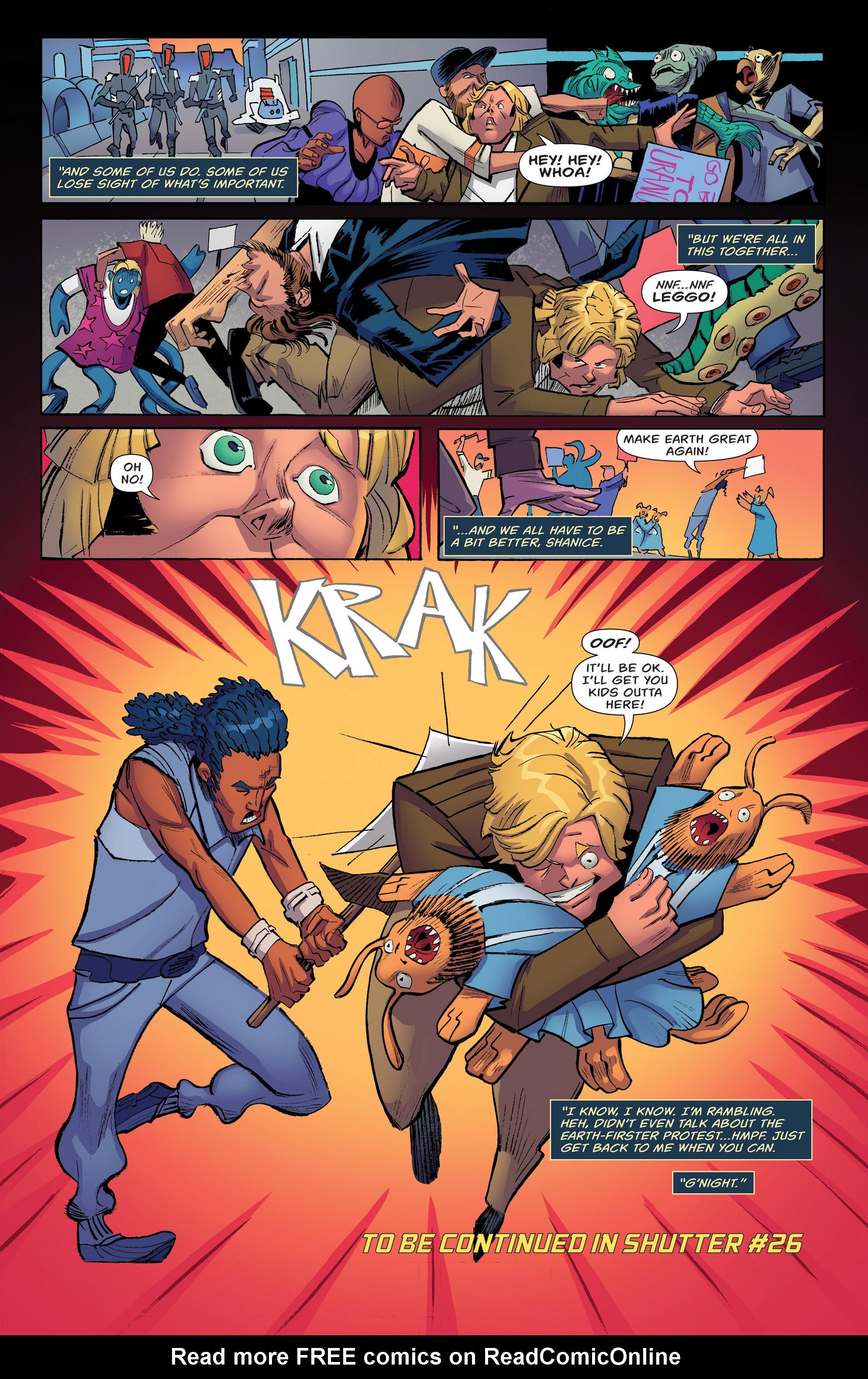 Read online Shutter comic -  Issue #25 - 26