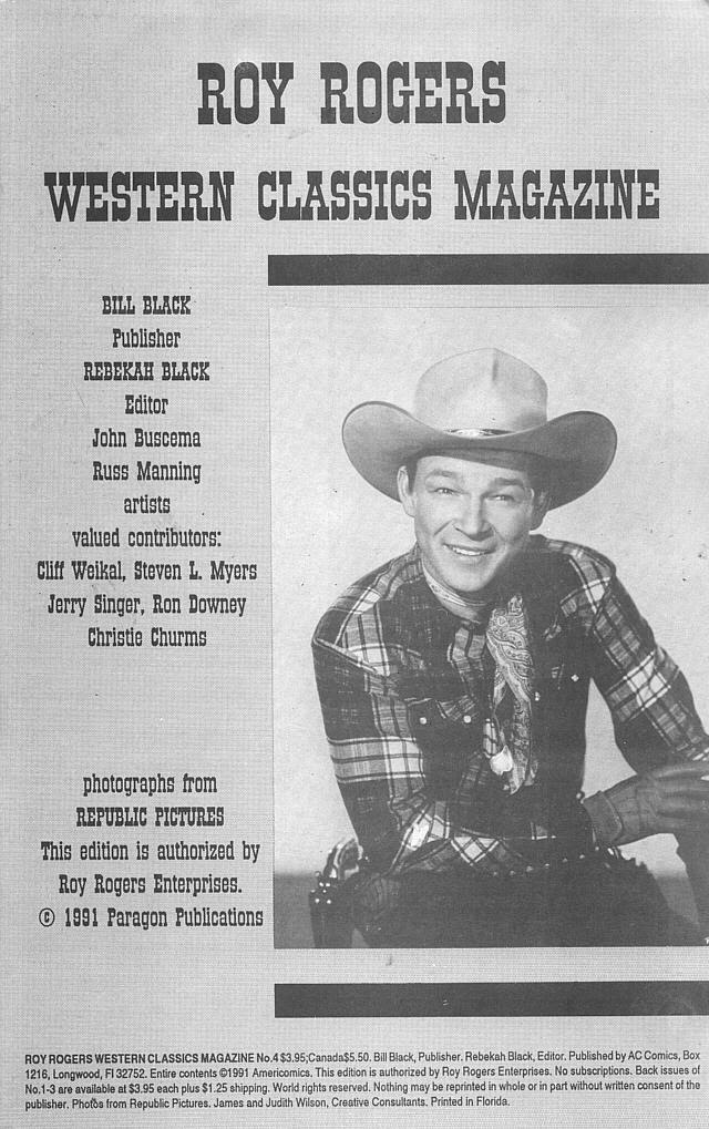 Read online Roy Rogers comic -  Issue #4 - 3