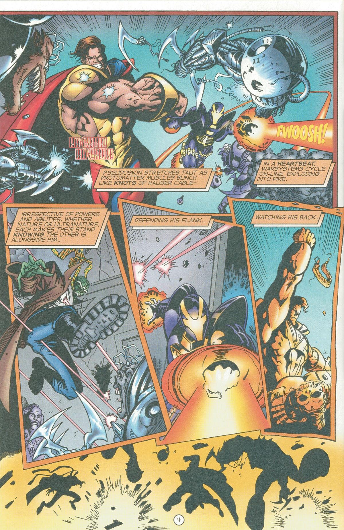 Read online UltraForce (1995) comic -  Issue #6 - 5
