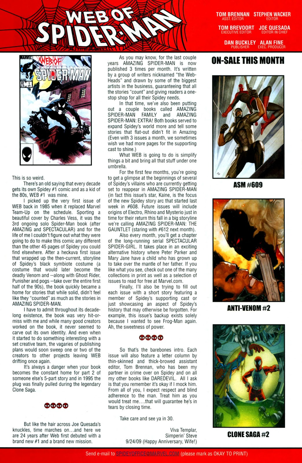 Web of Spider-Man (2009) Issue #1 #1 - English 44
