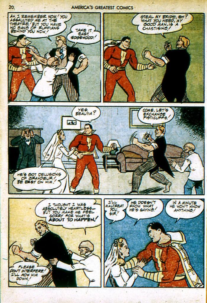 Read online America's Greatest Comics comic -  Issue #4 - 20