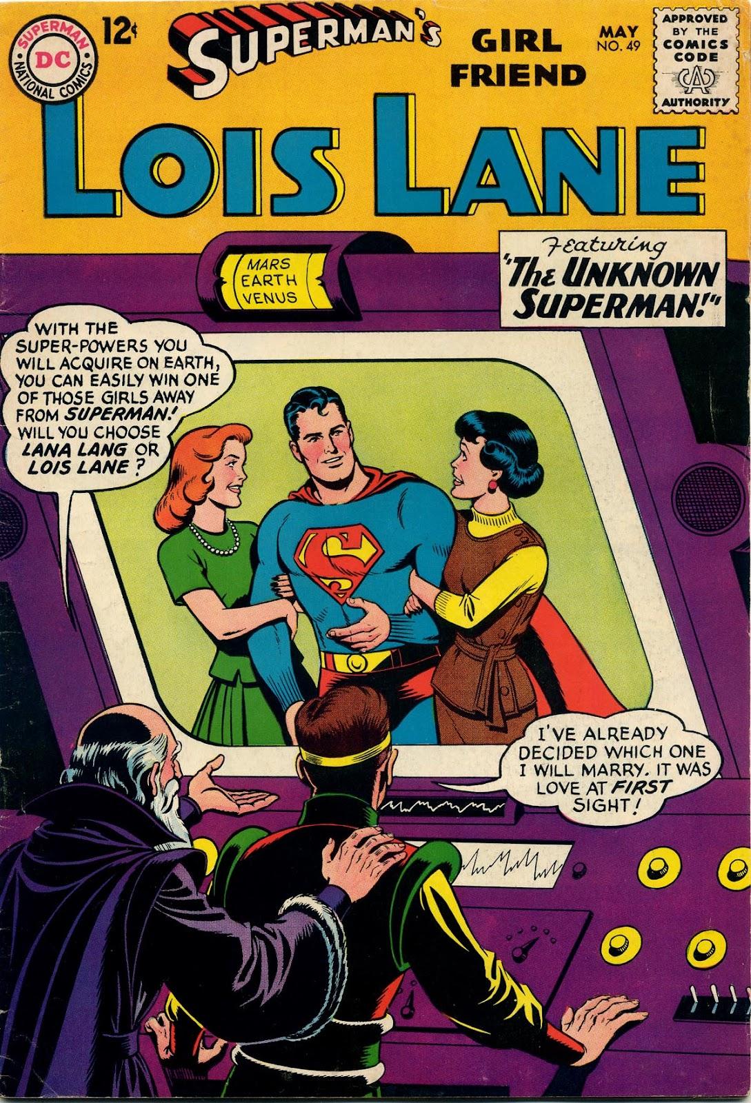 Supermans Girl Friend, Lois Lane 49 Page 1