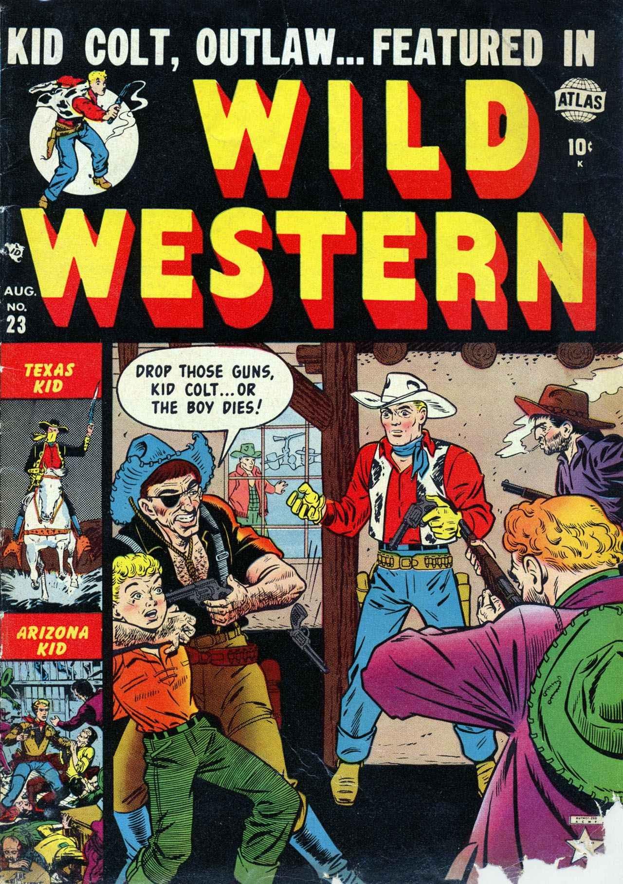 Wild Western 23 Page 1