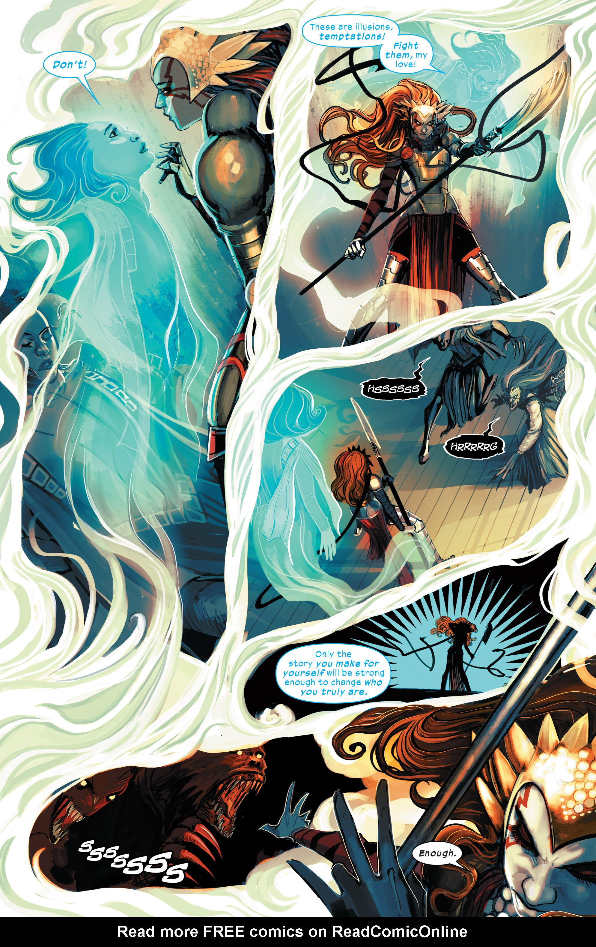 Read online 1602 Witch Hunter Angela comic -  Issue #4 - 8