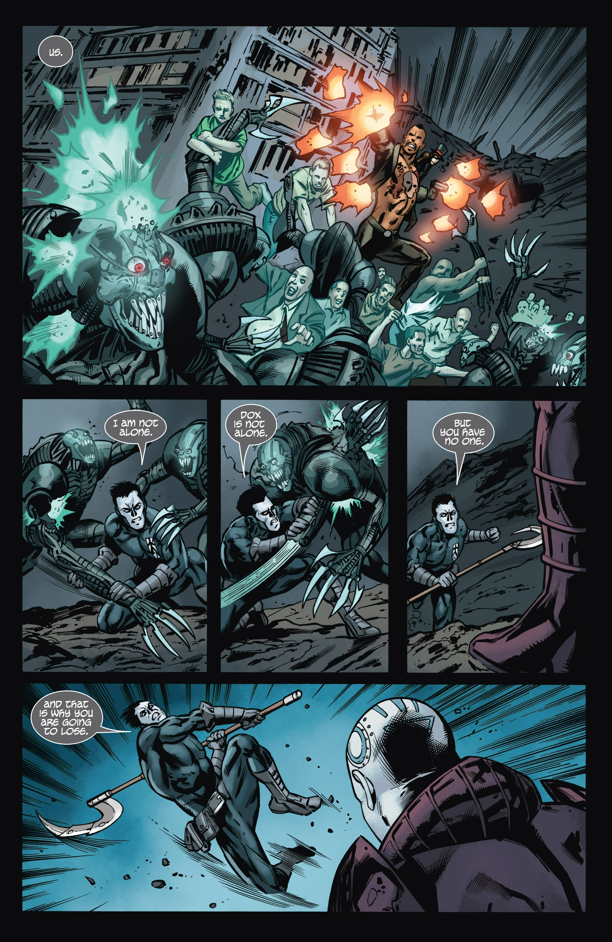 Read online Shadowman (2012) comic -  Issue #9 - 11