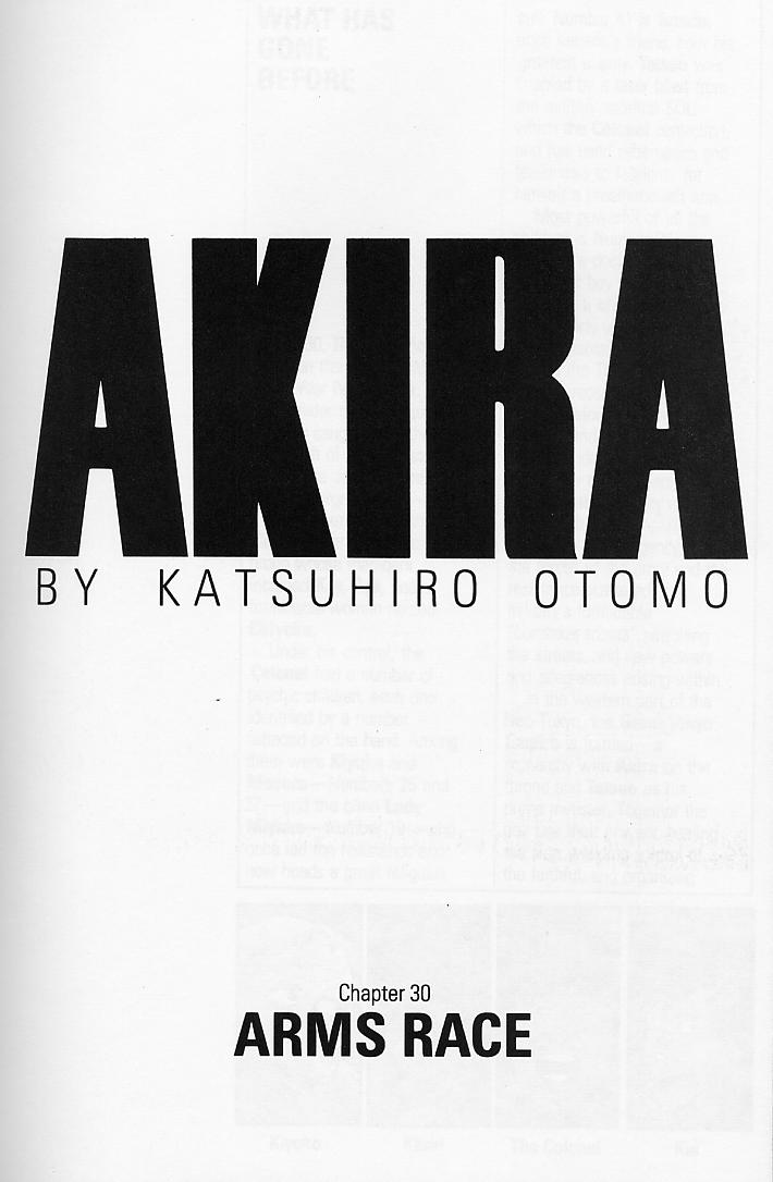 Read online Akira comic -  Issue #30 - 3