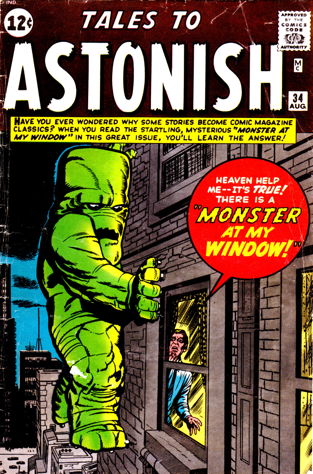 Tales to Astonish (1959) issue 34 - Page 1