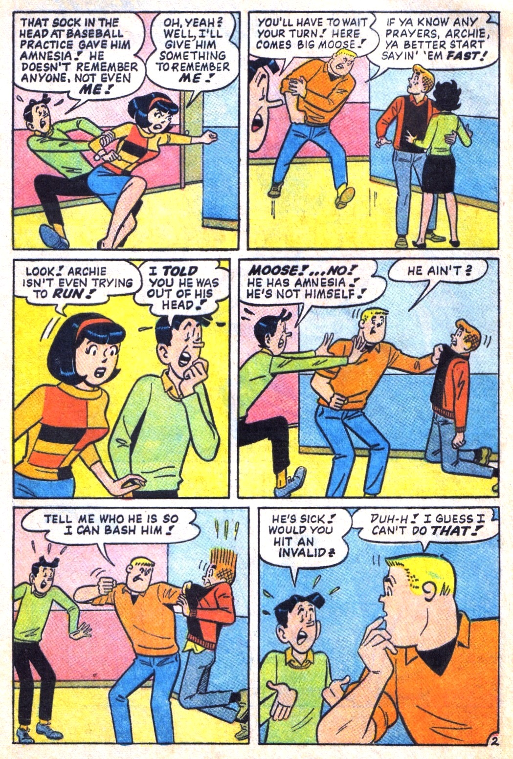 Read online Archie (1960) comic -  Issue #171 - 4