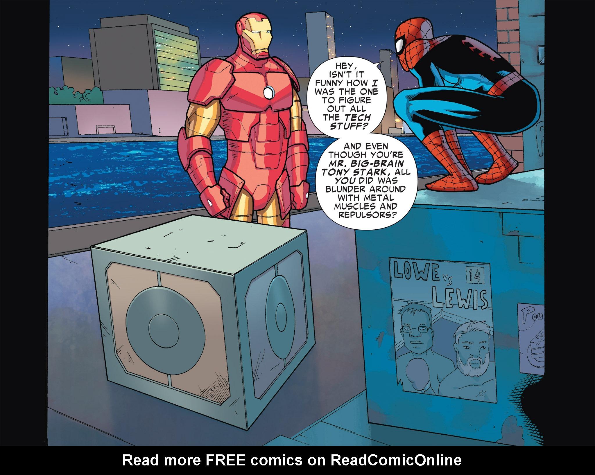 Read online Ultimate Spider-Man (Infinite Comics) (2016) comic -  Issue #5 - 46