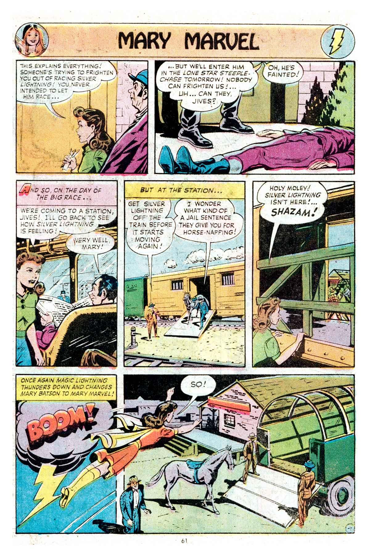 Read online Shazam! (1973) comic -  Issue #17 - 61