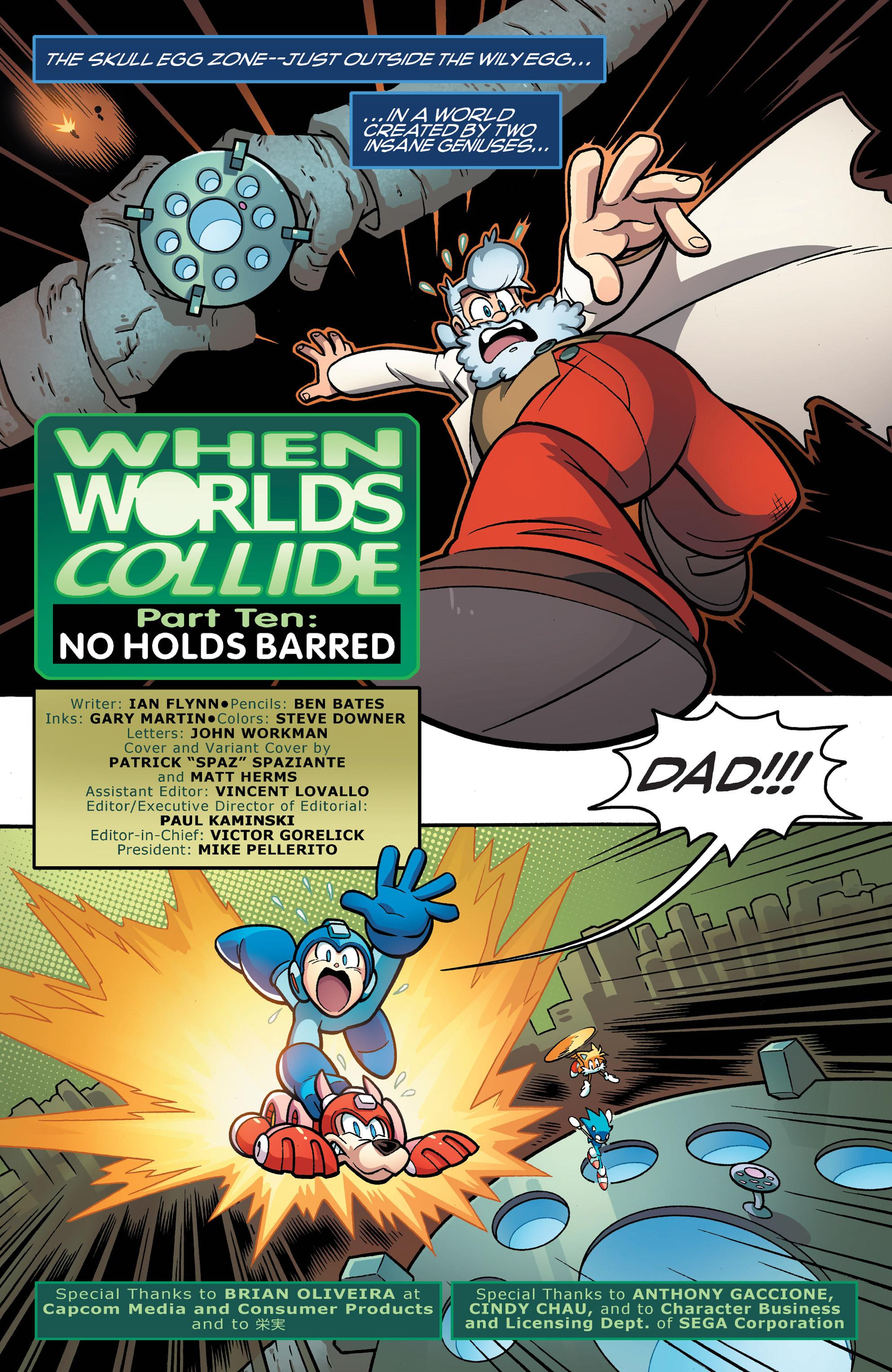 Read online Sonic Mega Man Worlds Collide comic -  Issue # Vol 3 - 50