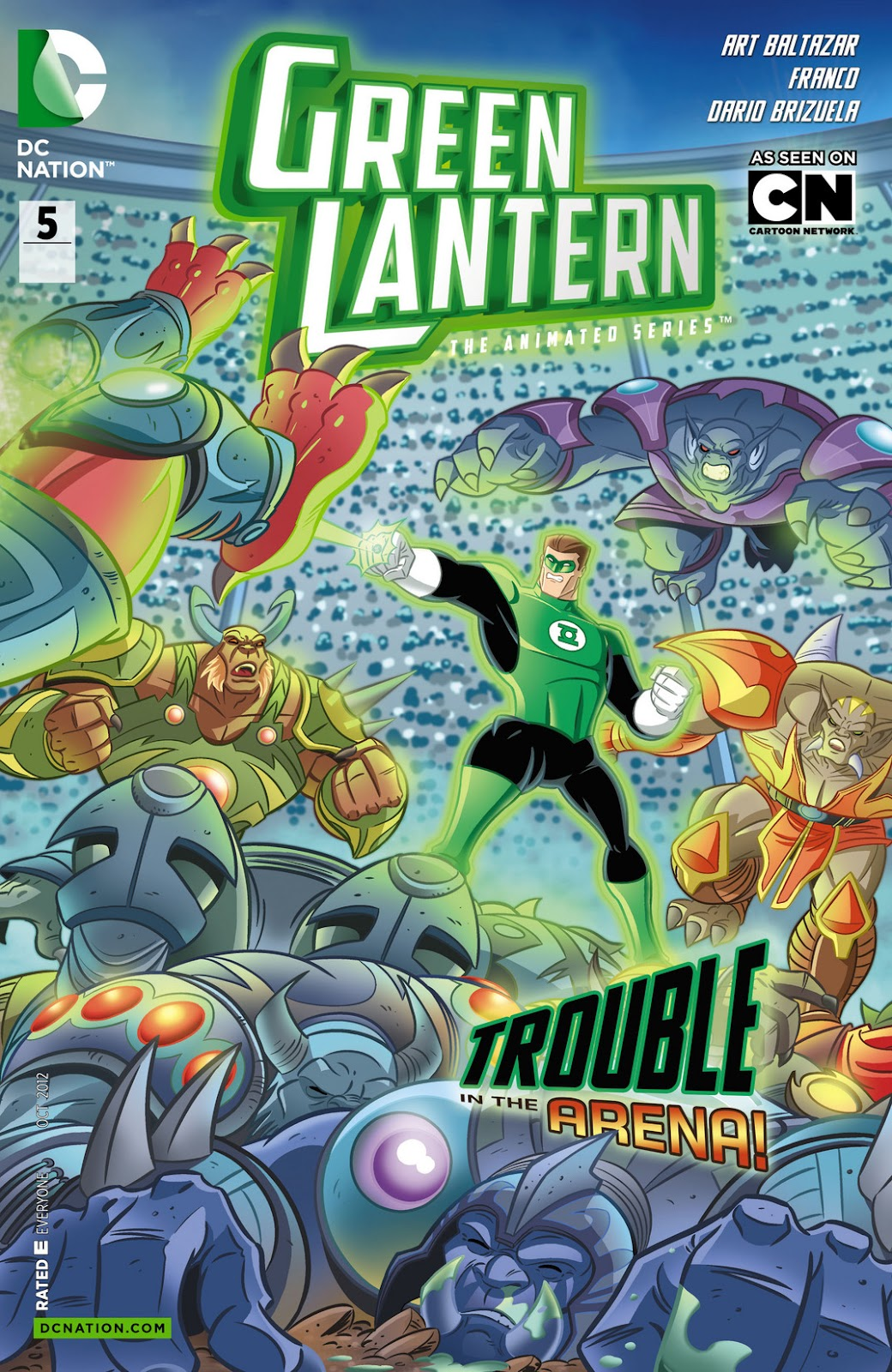 Green Lantern: The Animated Series 5 Page 1