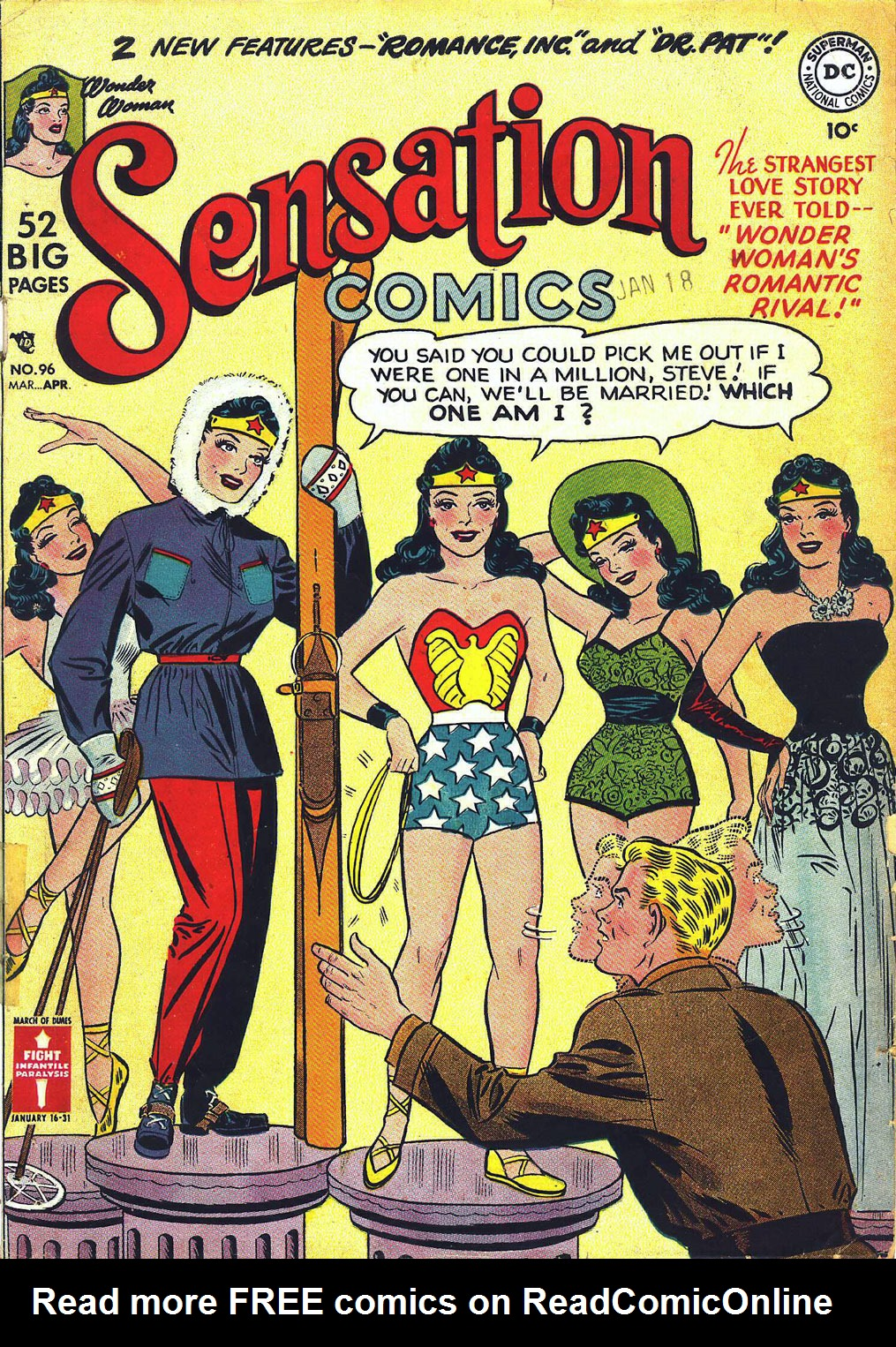 Read online Sensation (Mystery) Comics comic -  Issue #96 - 1