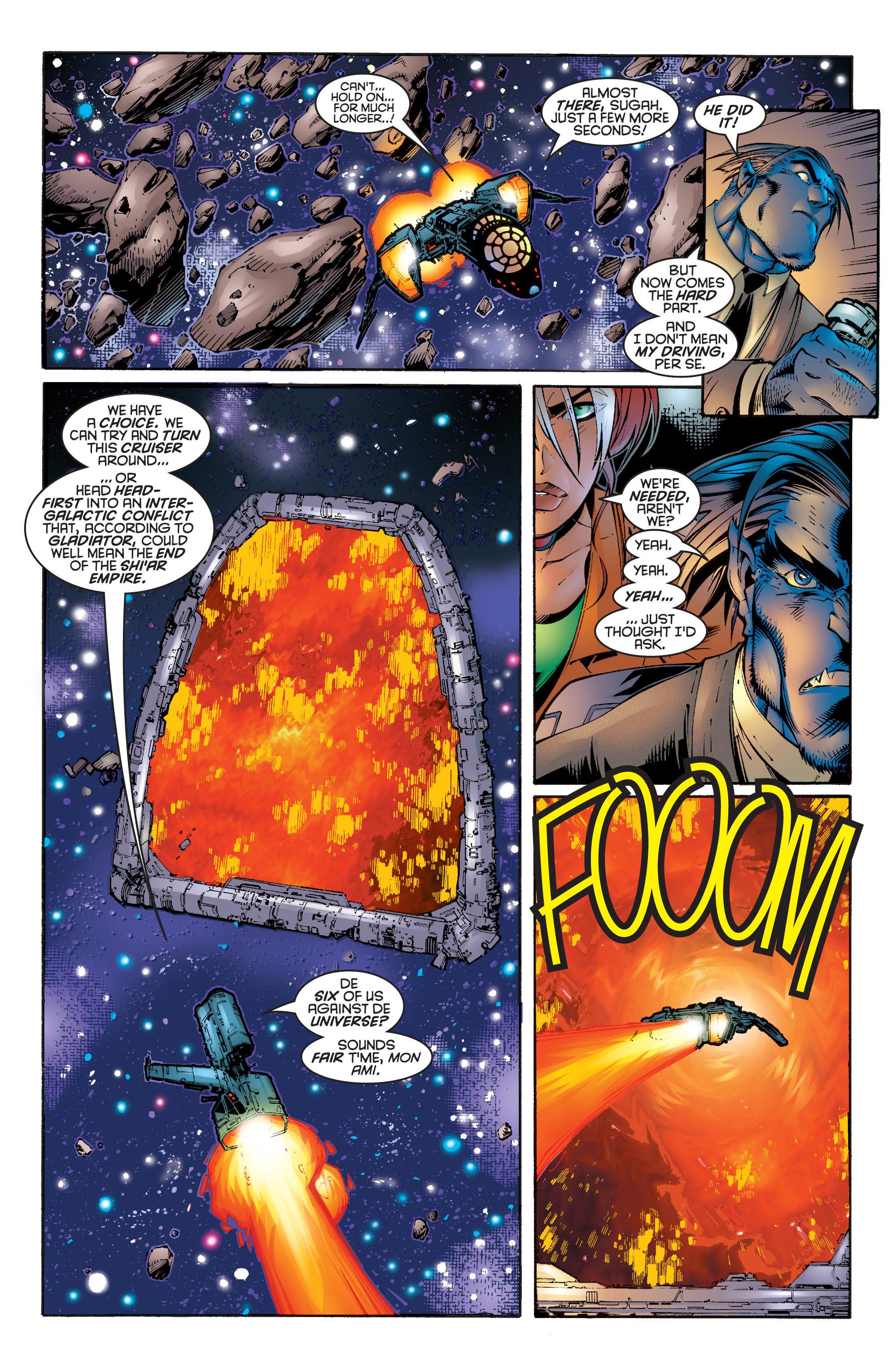 Read online Uncanny X-Men (1963) comic -  Issue #342 - 9
