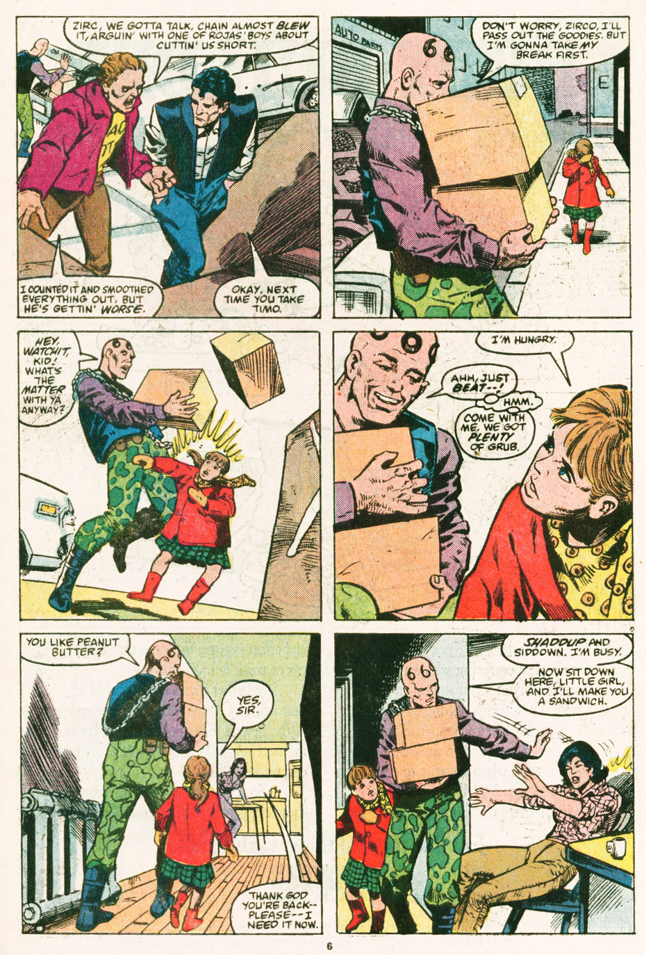 Read online Justice (1986) comic -  Issue #6 - 7