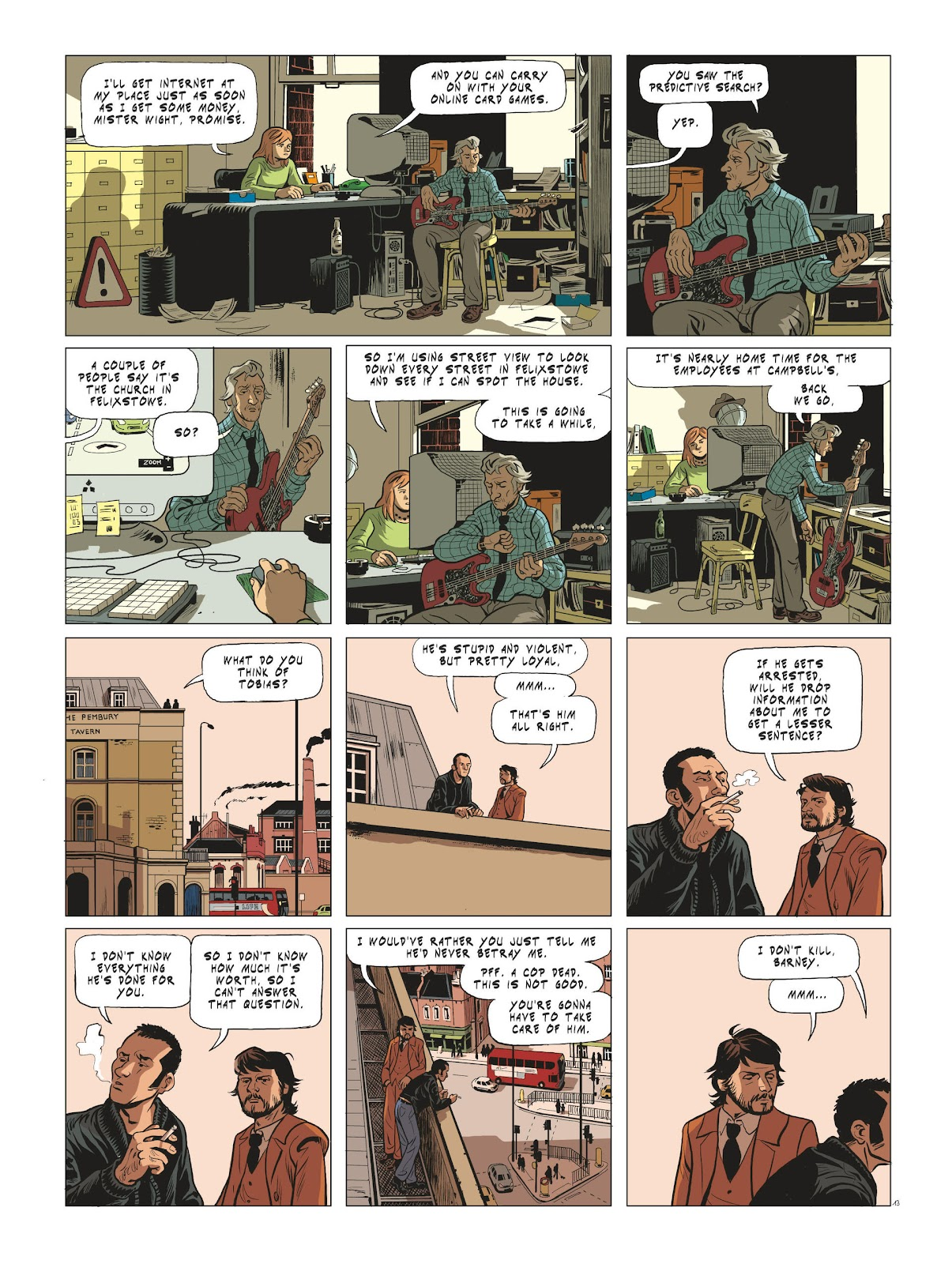 Read online Maggy Garrisson comic -  Issue #3 - 15