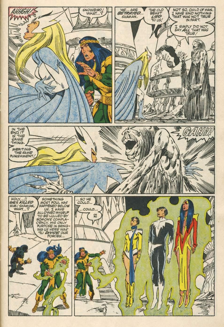 Read online Alpha Flight (1983) comic -  Issue #24 - 29