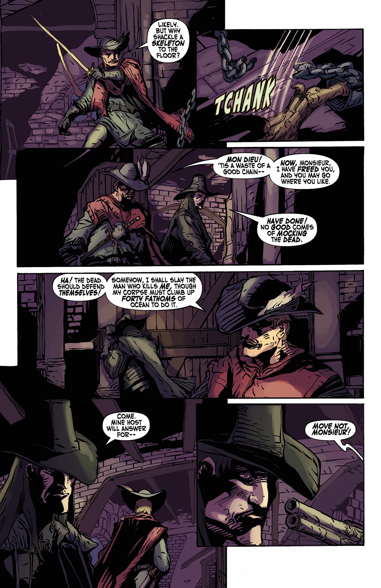 Read online Solomon Kane: Death's Black Riders comic -  Issue #2 - 15