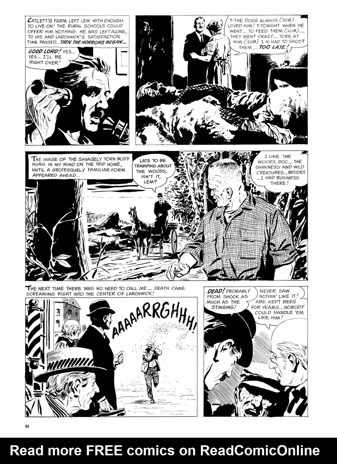 Read online Eerie Archives comic -  Issue # TPB 1 - 95