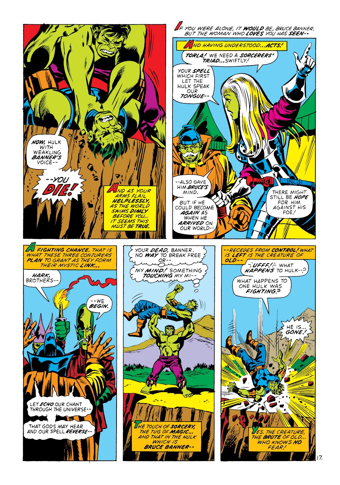 Read online Marvel Masterworks: The Incredible Hulk comic -  Issue # TPB 8 (Part 3) - 78