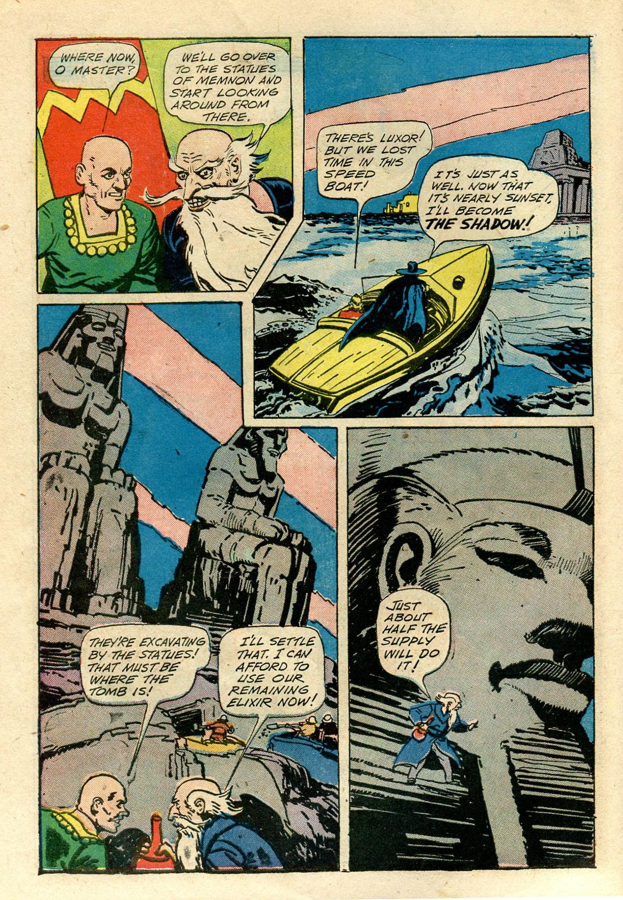 Read online Shadow Comics comic -  Issue #33 - 10