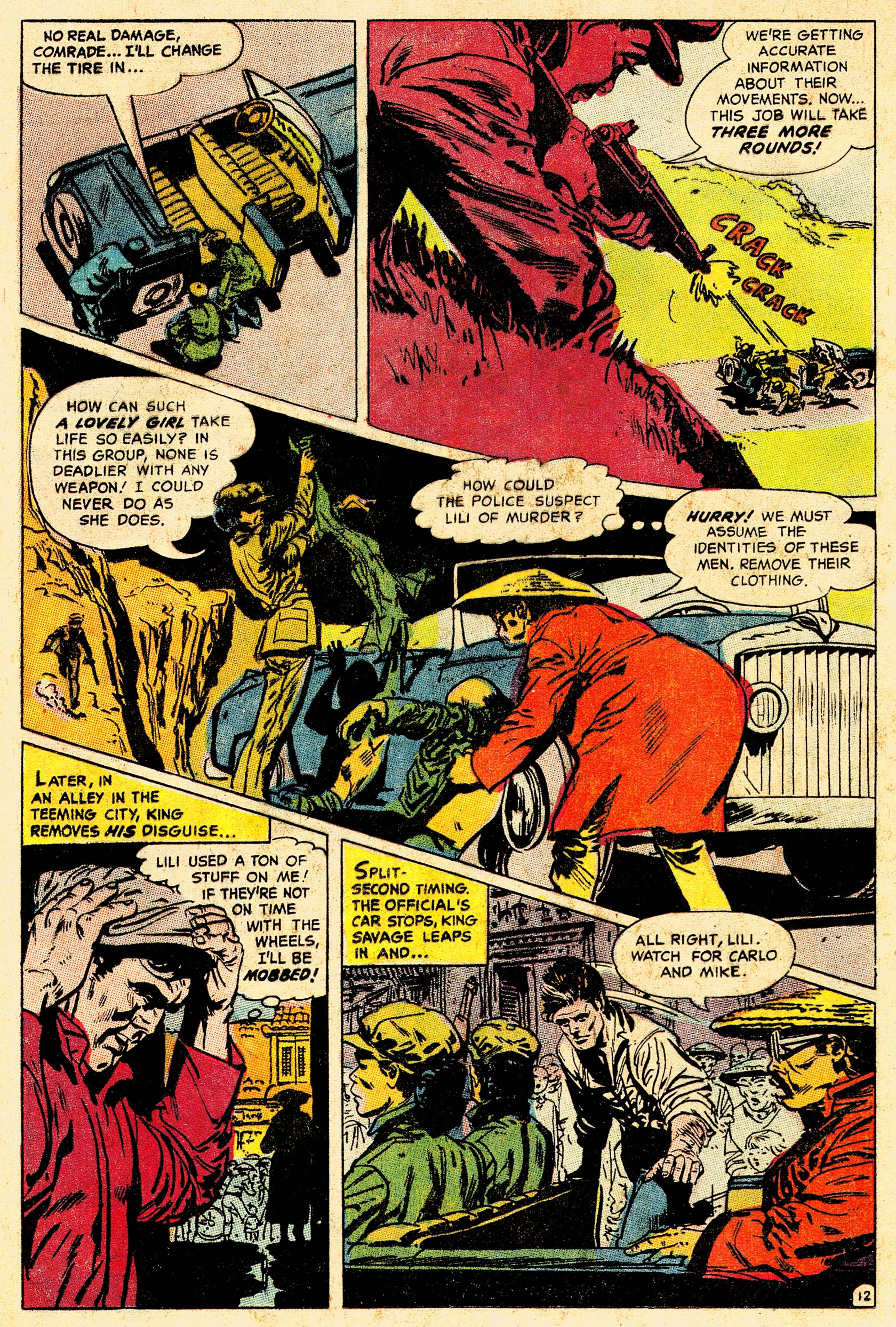 Read online Secret Six (1968) comic -  Issue #4 - 16
