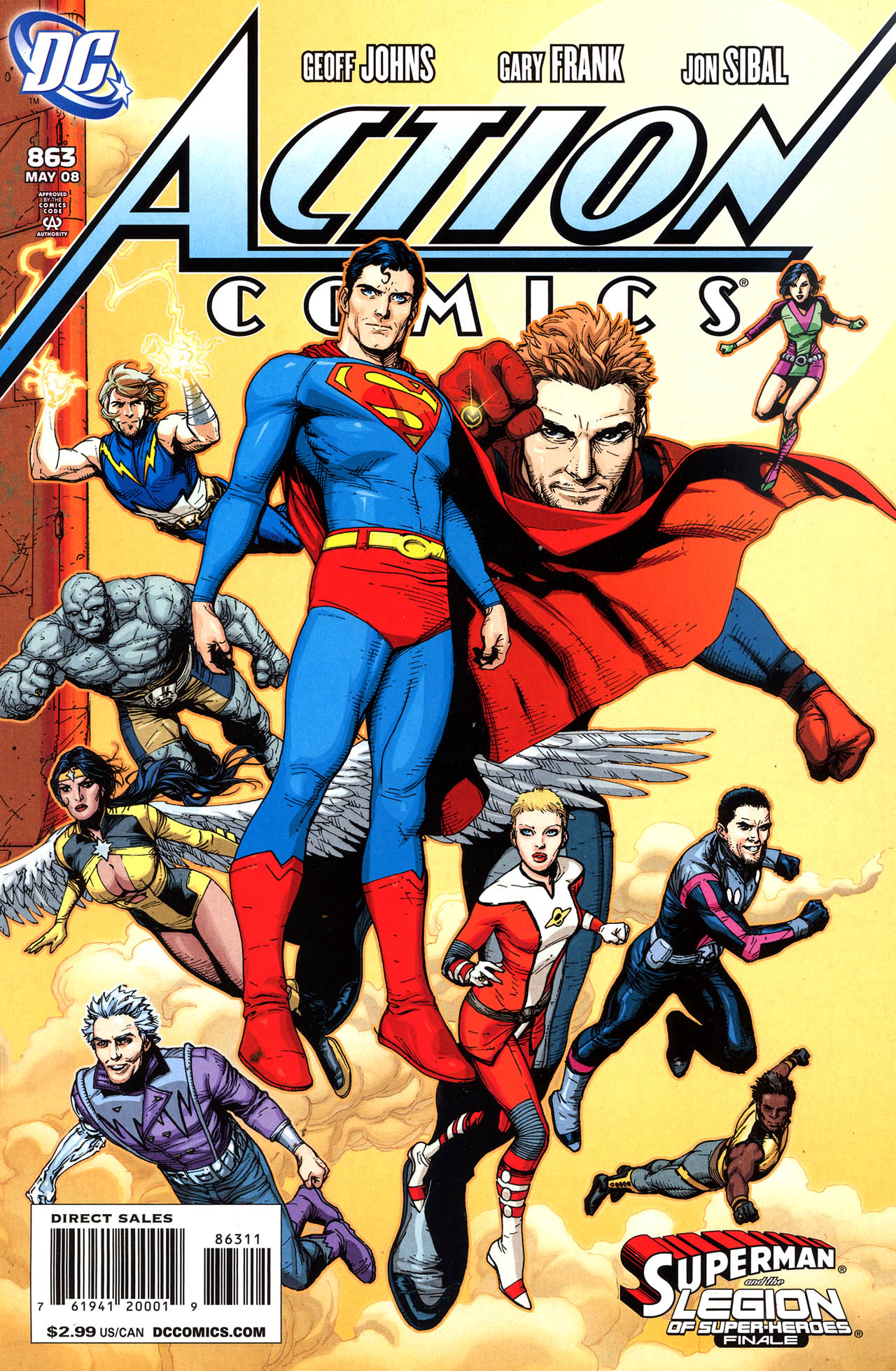 Read online Action Comics (1938) comic -  Issue #863 - 2