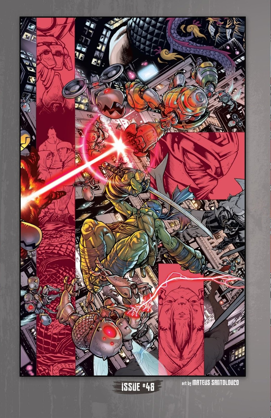 Read online Teenage Mutant Ninja Turtles: The IDW Collection comic -  Issue # TPB 6 (Part 2) - 93