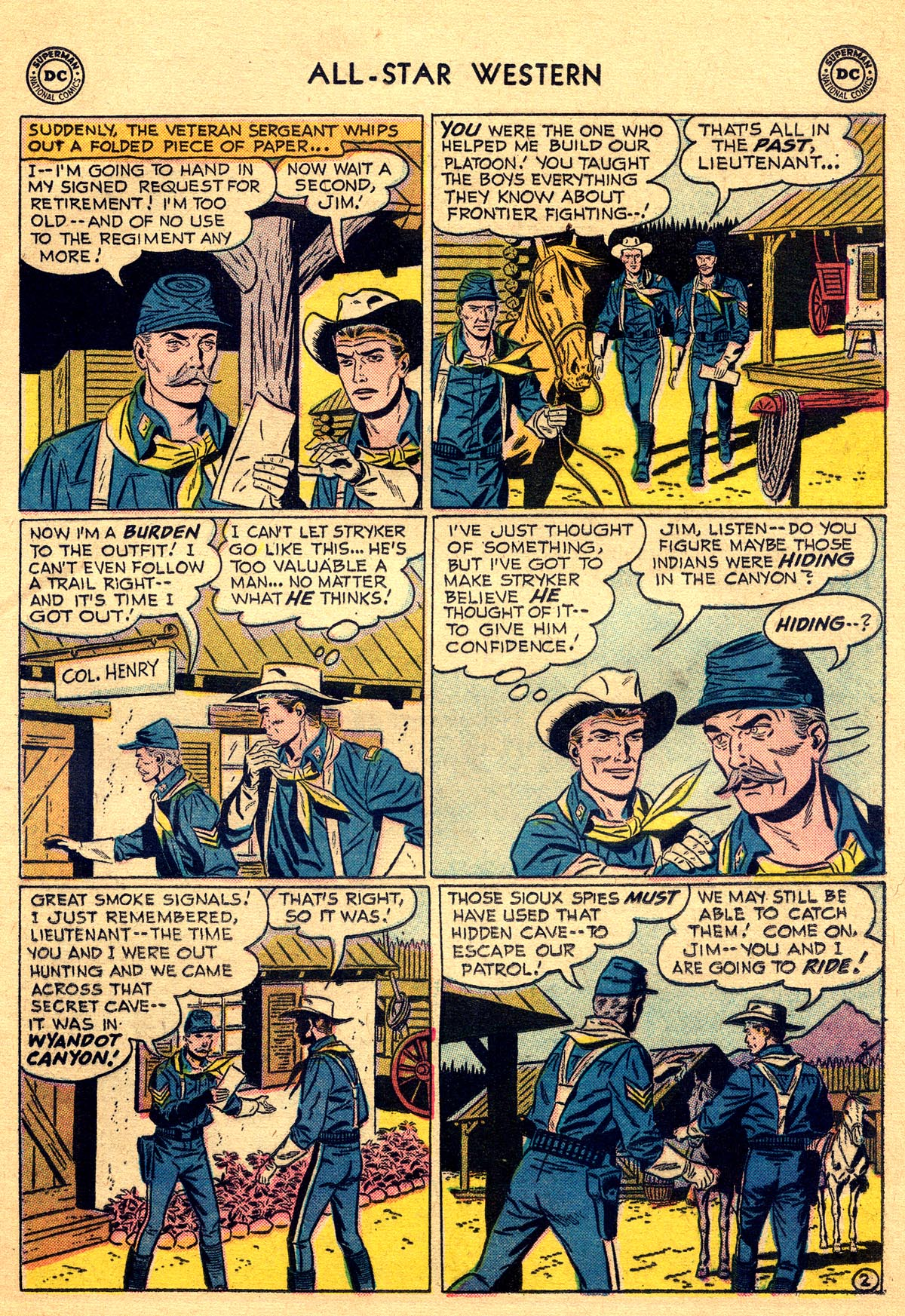 Read online All-Star Western (1951) comic -  Issue #93 - 21