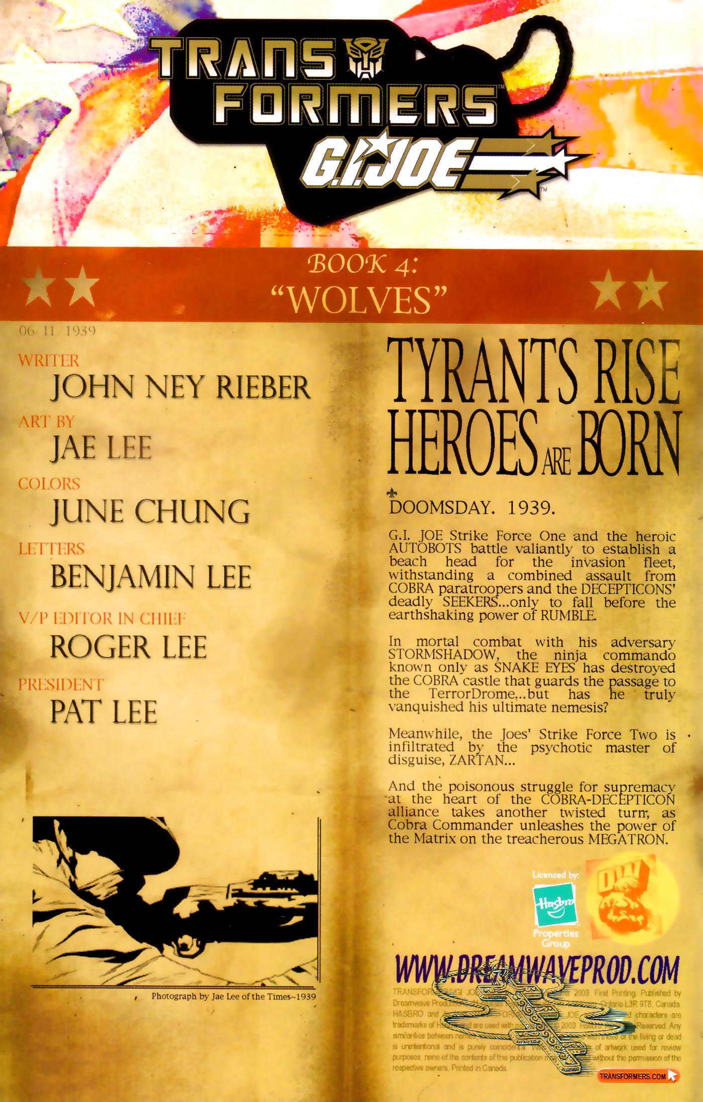 Read online Transformers/G.I. Joe comic -  Issue #4 - 2