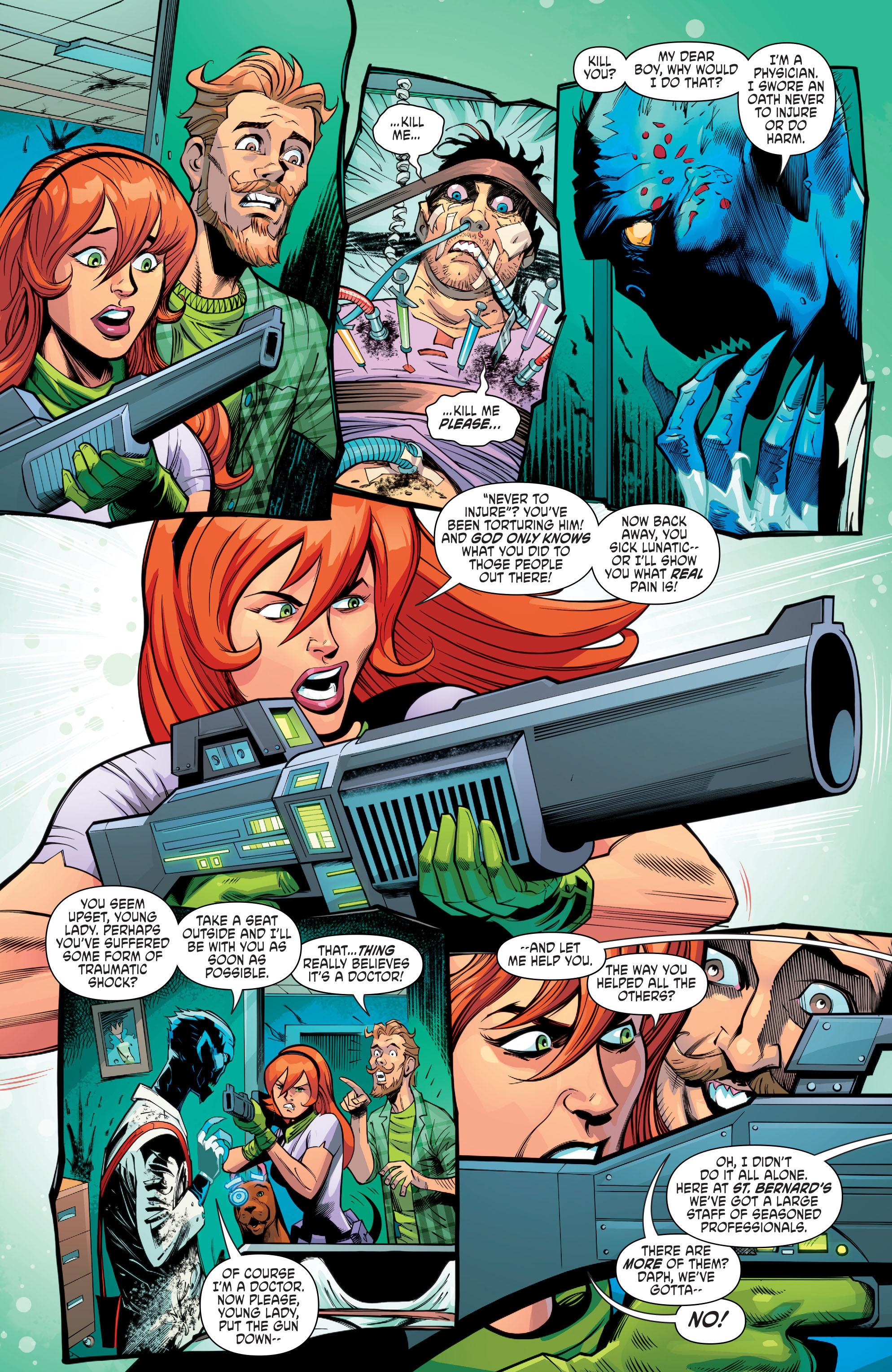 Read online Scooby Apocalypse comic -  Issue #8 - 16