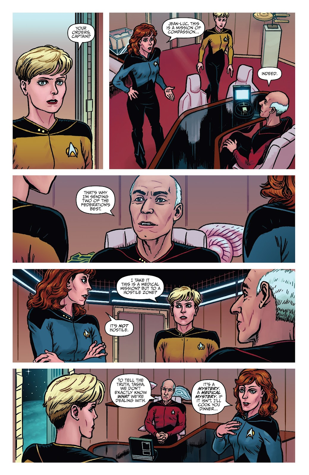 Read online Star Trek: Waypoint Special 2019 comic -  Issue # Full - 14
