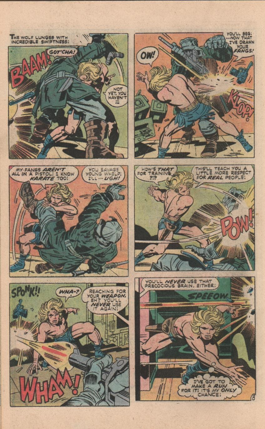 Kamandi, The Last Boy On Earth issue 32 - Page 39