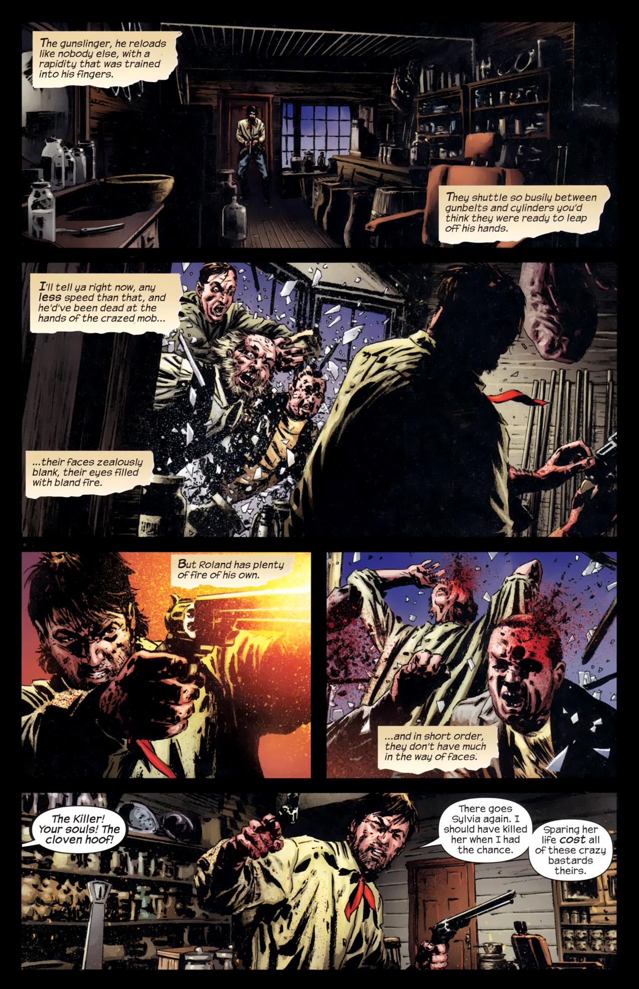 Read online Dark Tower: The Gunslinger - The Battle of Tull comic -  Issue #5 - 9