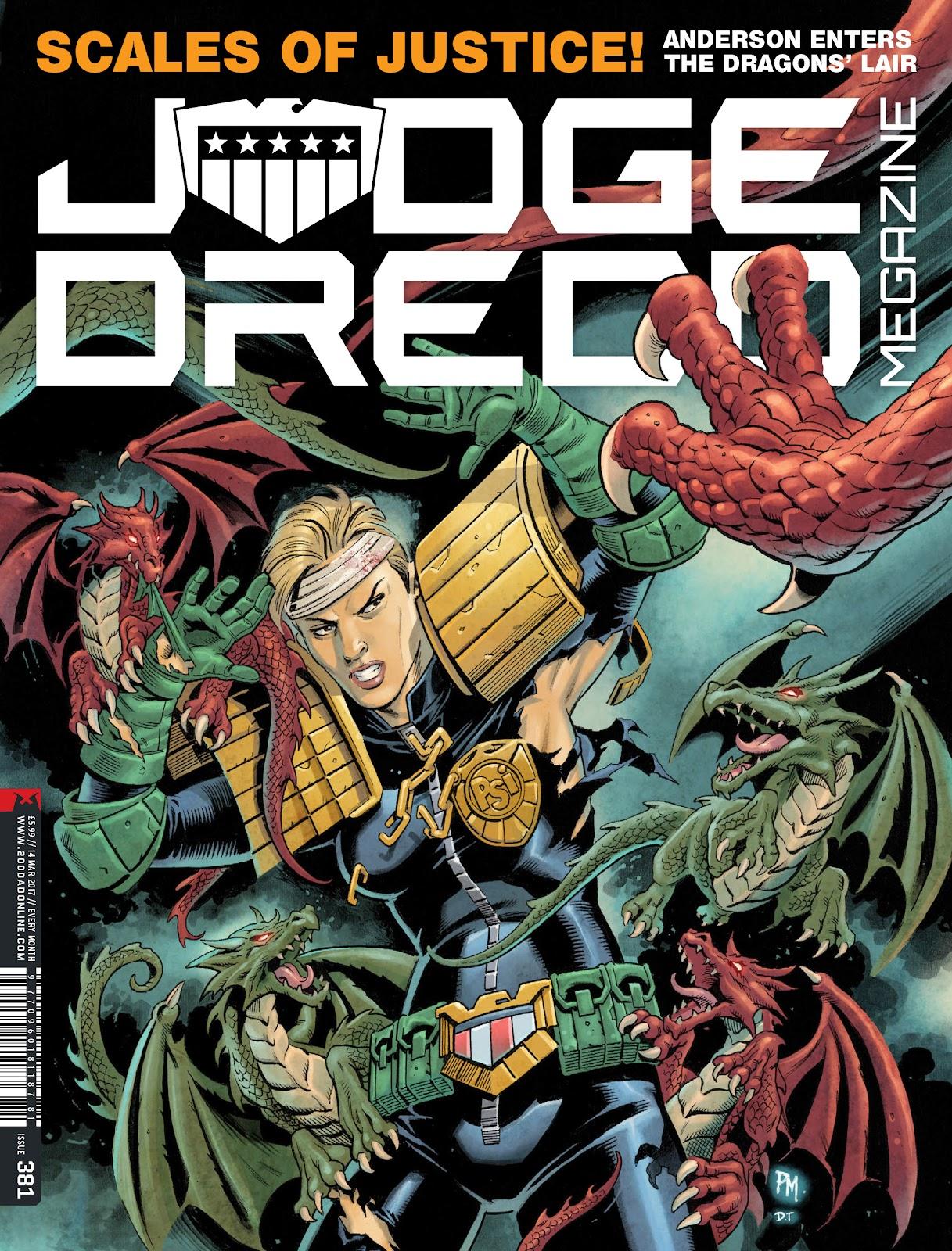 Judge Dredd Megazine (Vol. 5) issue 381 - Page 1