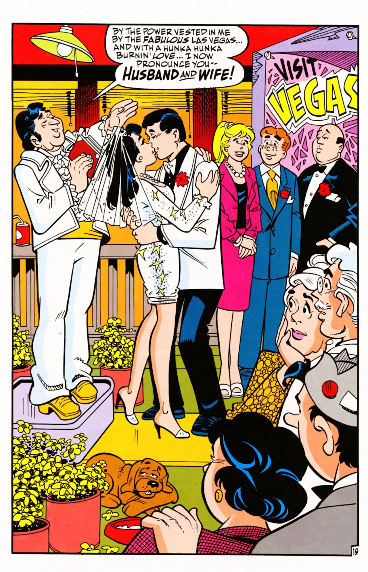 Read online Archie (1960) comic -  Issue #605 - 28