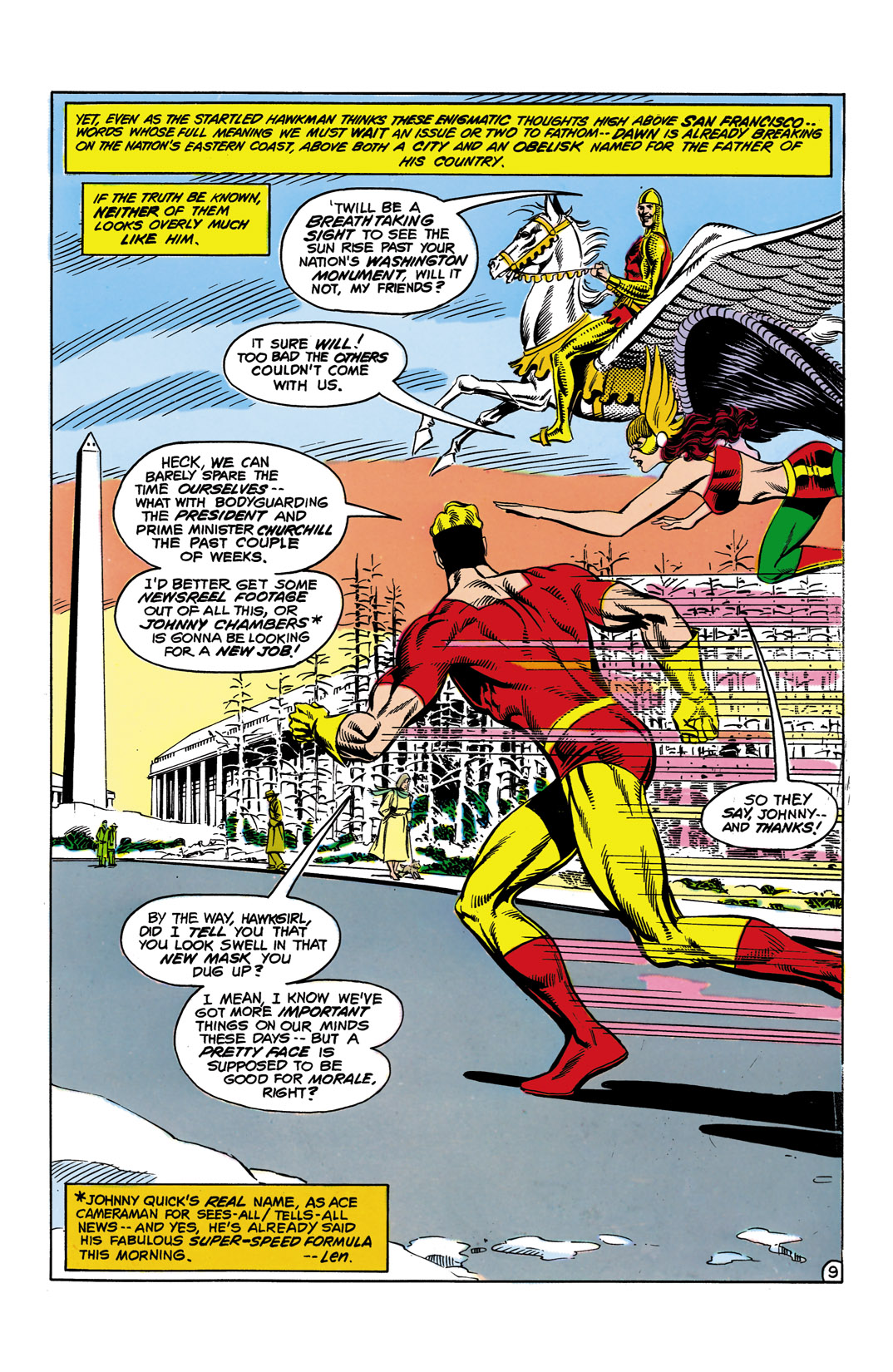 Read online All-Star Squadron comic -  Issue #10 - 10