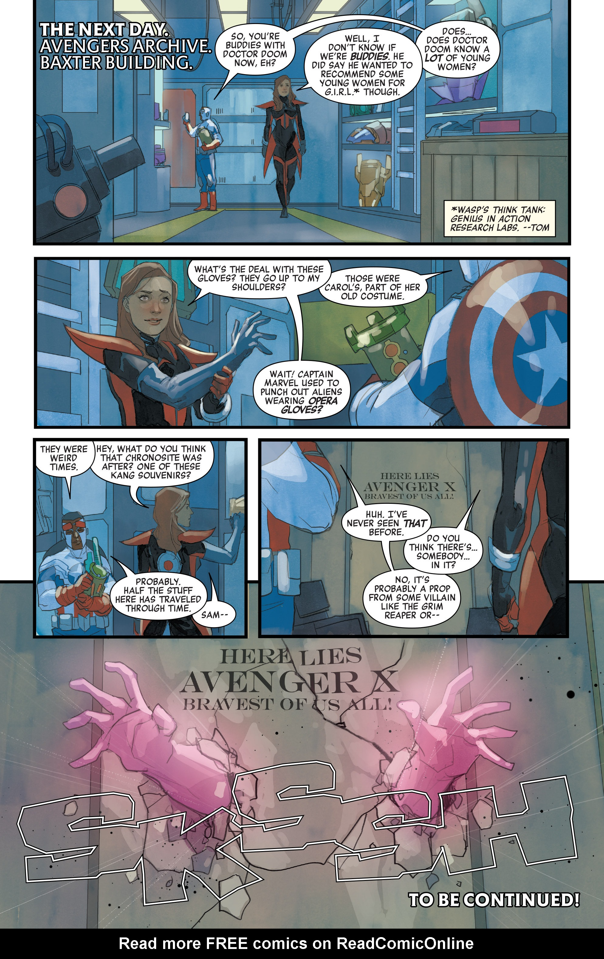 Read online Avengers (2016) comic -  Issue #7 - 22