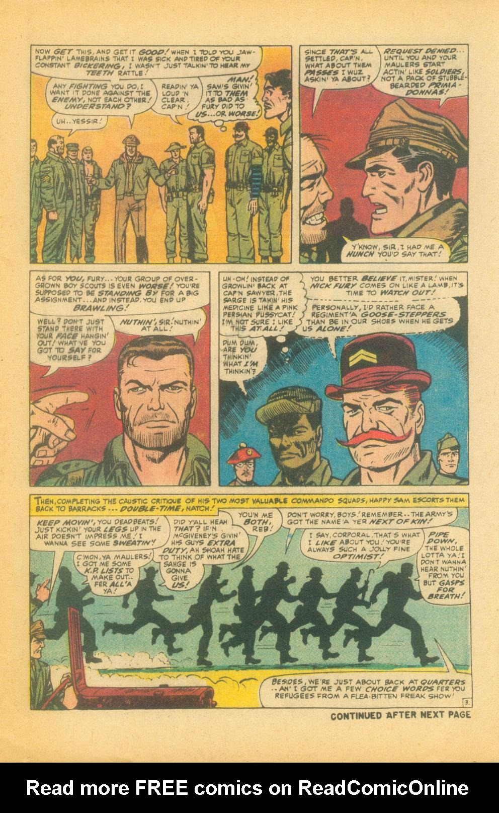 Read online Sgt. Fury comic -  Issue #99 - 5